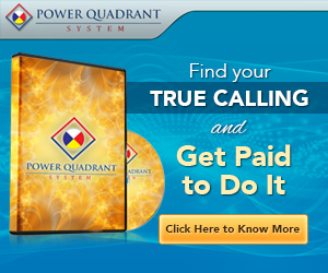 Power Quadrant System - Find Your True Calling